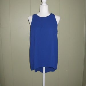 Vince Camuto Pleat Back Core Blouse *NEW*